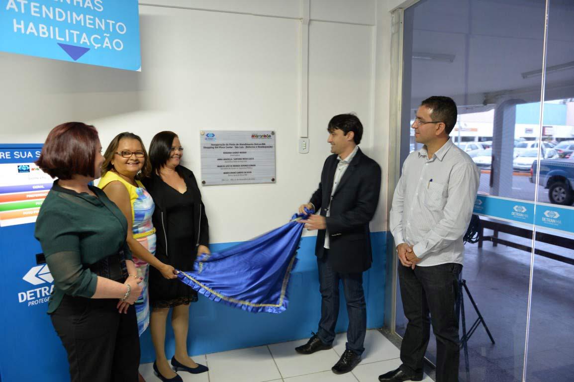 André Campos inaugura posto de atendimento  avançado do DETRAN na Cohab