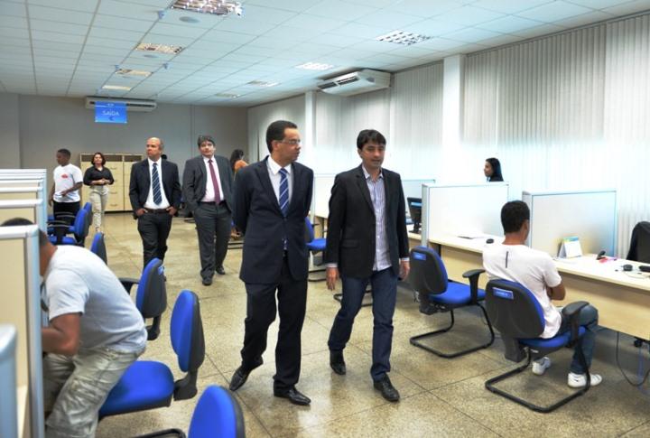 André Campos recebe futuro Diretor do Detran-MA, Antônio Nunes