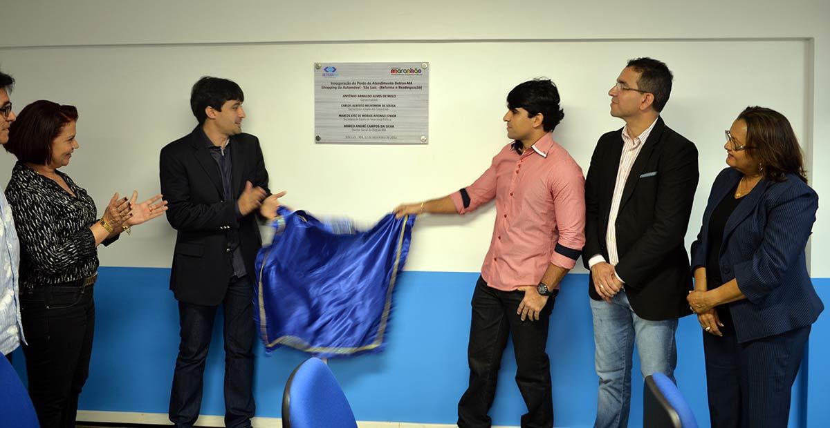 Detran-MA inaugura mais um posto de atendimento avançado em São Luís totalmente reformado no Calhau