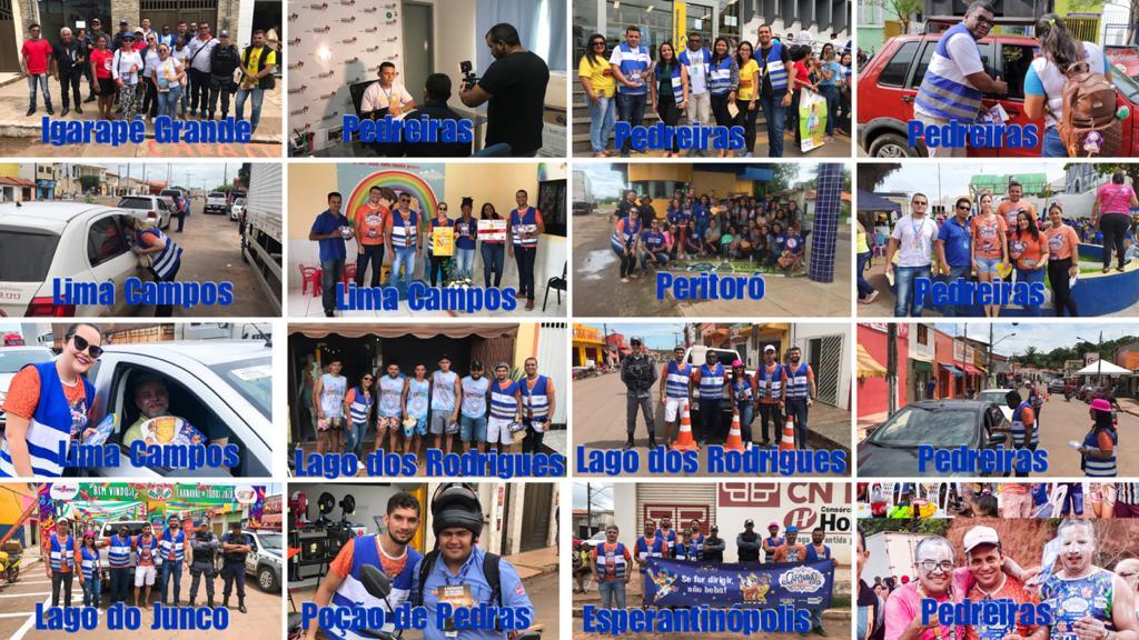 7ª CIRETRAN de Pedreiras realizou diversas ações no Carnaval