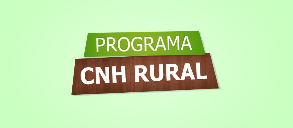 Inscrições para o programa 'CNH Rural' começam nesta segunda-feira (2)