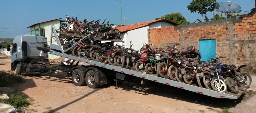 Leilões reduzem superlotação de veículos nos pátios do Detran e Ciretrans maranhenses
