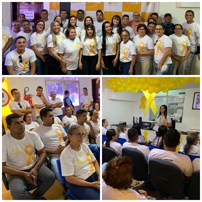 Servidores da 6ª CIRETRAN participam de reunião para apresentação do Maio Amarelo