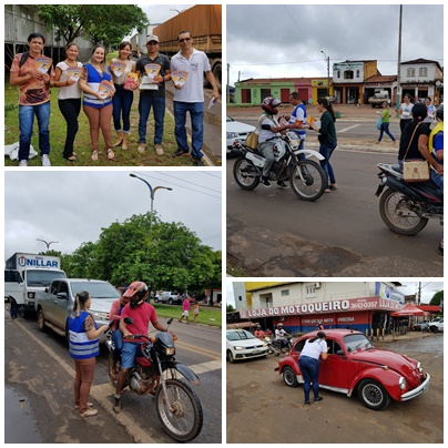 13ª CIRETRAN de Barra do Corda realiza ação educativa em parceria com a Secretaria Municipal de Saúde.