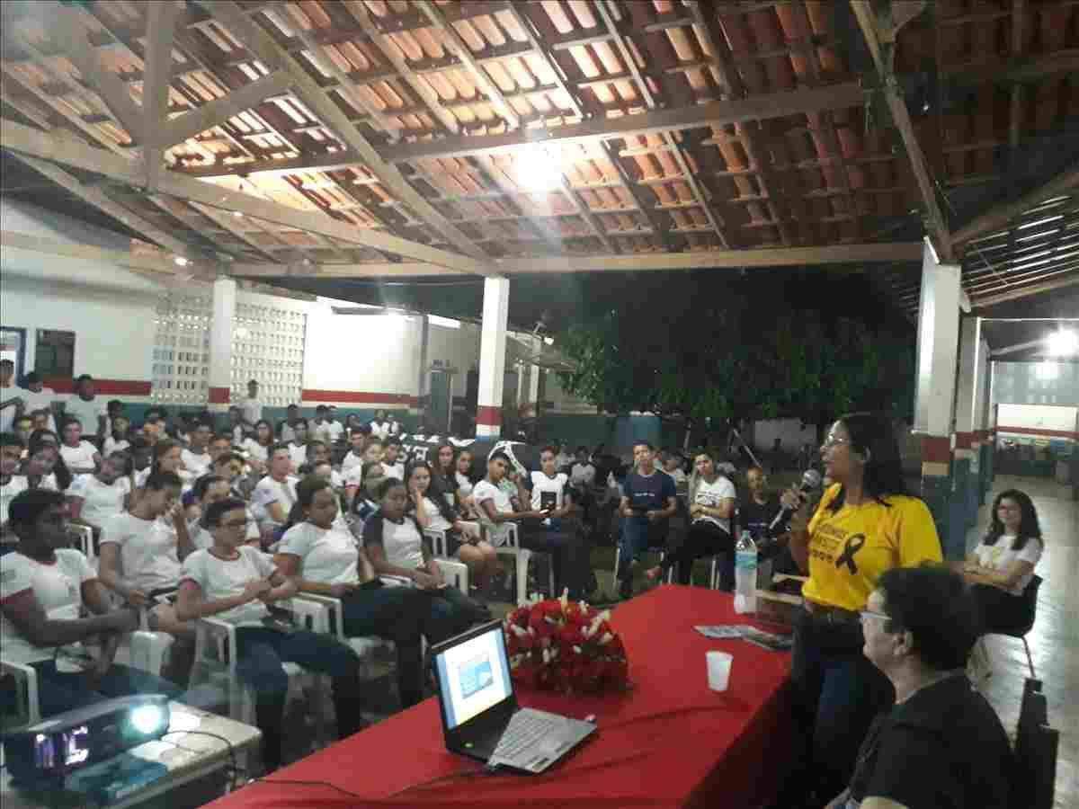 Ciretran de Imperatriz promove palestra educativa em escola de São João do Paraíso