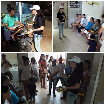 6ª CIRETRAN realiza palestra no Posto de Saúde do bairro Boa Vista