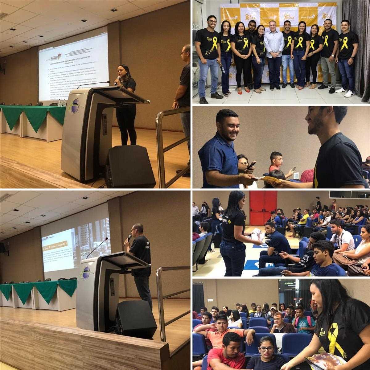 Maio Amarelo 2019: 2a Ciretran de Caxias promove palestra na UniFacema