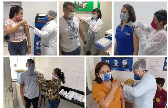 DETRAN-MA realiza vacinação de servidores e colaboradores de Postos Avançados
