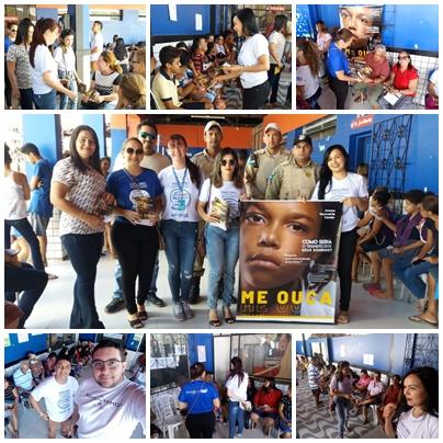 6ª CIRETRAN em parceria com DMT realizam abordagem educativa em evento voltado para saúde visual