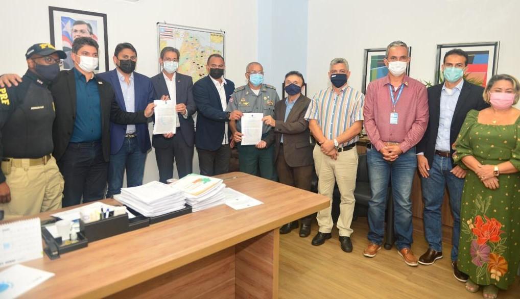 Maranhão assina Plano Nacional de Redução de Mortes e Lesões no Trânsito