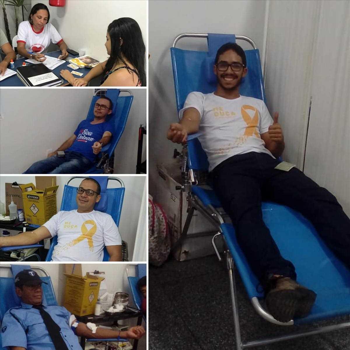 Doação de Sangue na 2ª Ciretran-Caxias