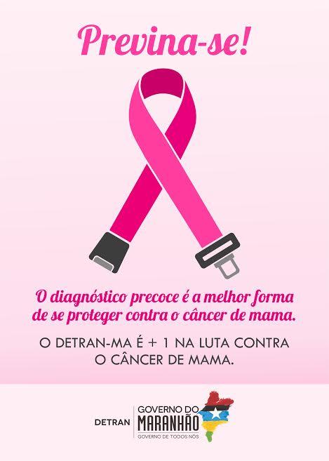Detran-MA realiza ações em apoio ao Outubro Rosa