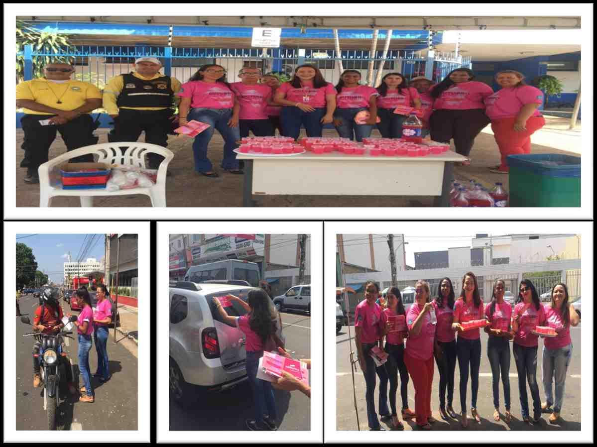 1ª Ciretran promove Blitz Outubro Rosa na Avenida Getúlio Vargas