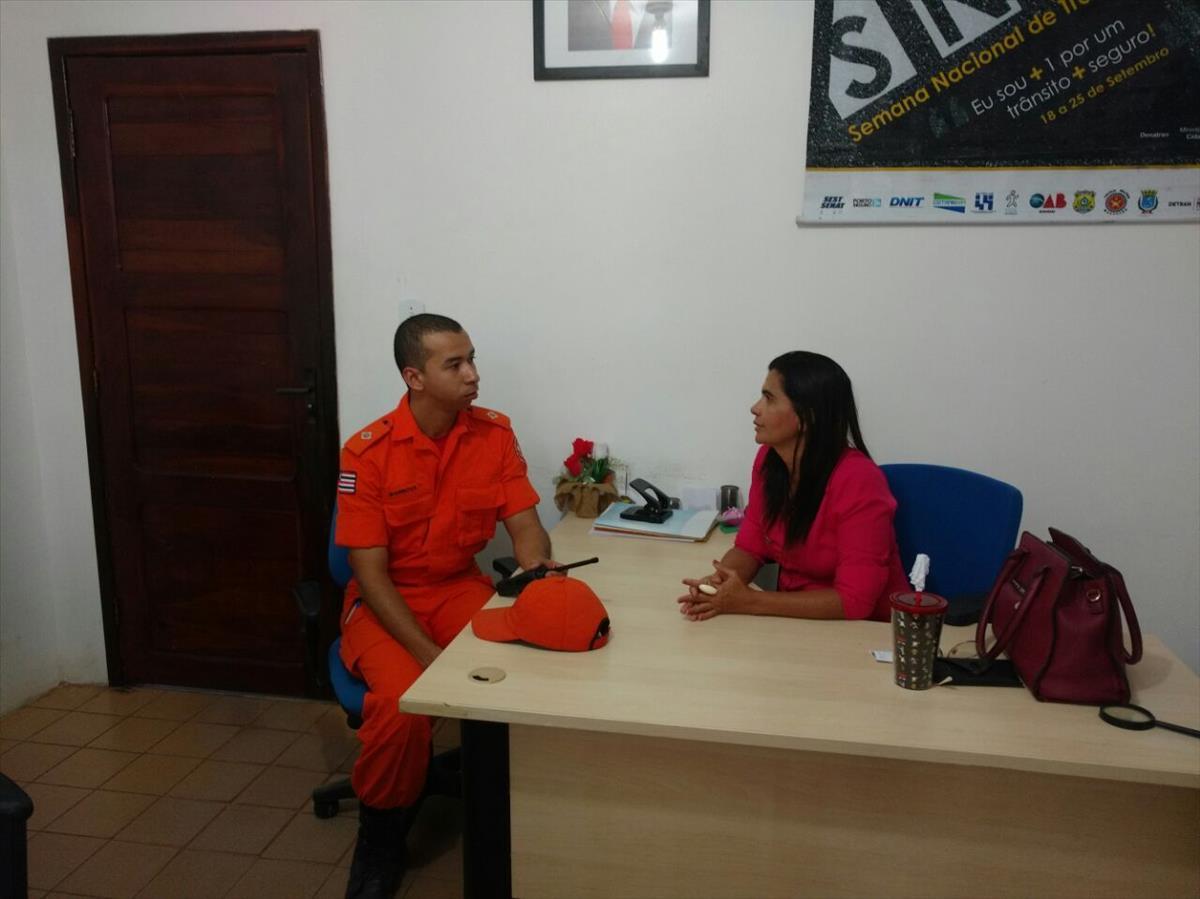 6a Ciretran fecha parcerias com Corpo de Bombeiros de Chapadinha