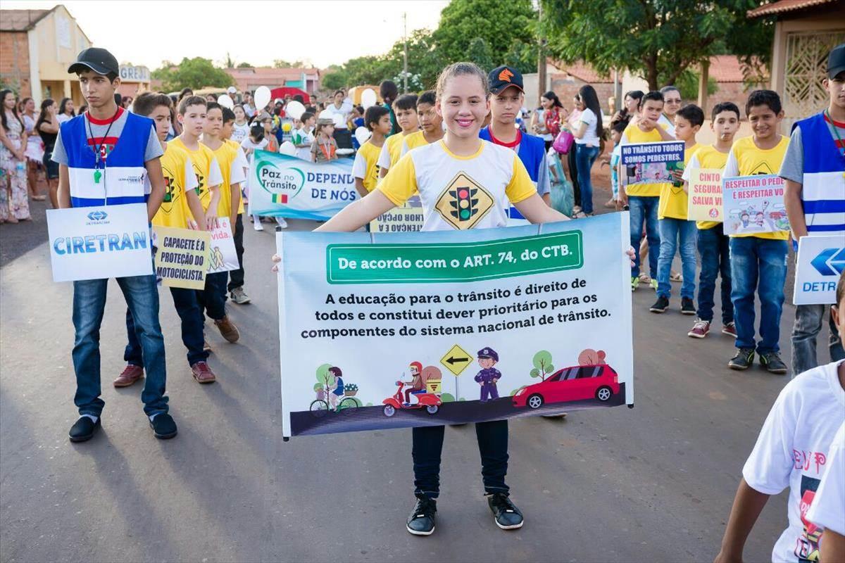 13ª Ciretran de Barra do Corda presente no desfile de 7 de setembro em Fernando Falcão