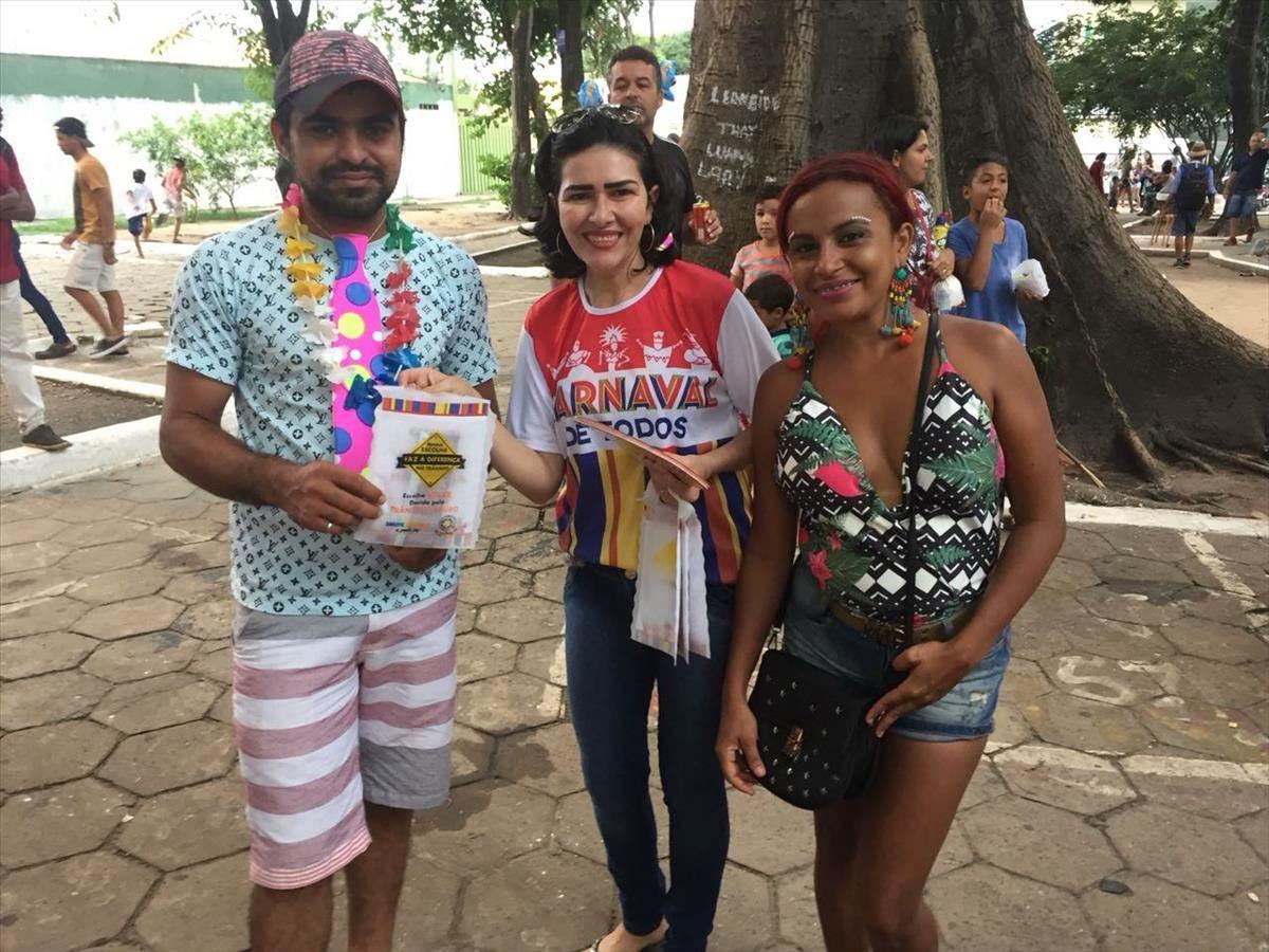 Equipe de educação para o Trânsito da Ciretran de Imperatriz realiza ação na terça-feira de Carnaval