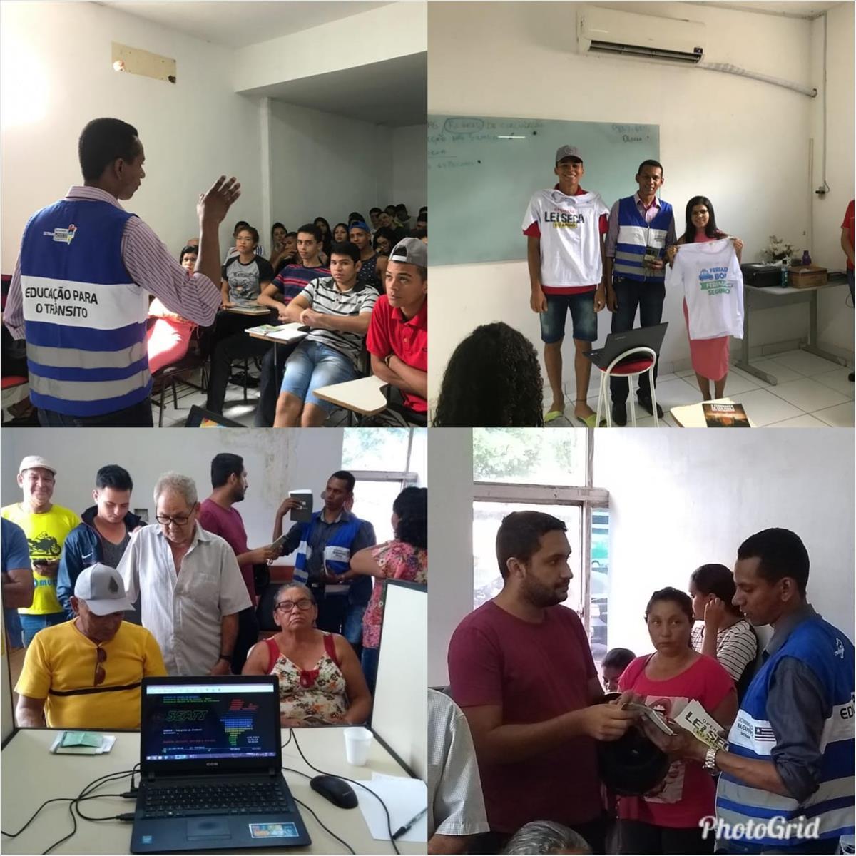 10ª Ciretran inicia as atividades educativas de 2019