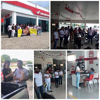 6ª CIRETRAN realiza palestra educativa em concessionária de motos de Chapadinha