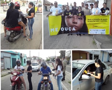 Maio Amarelo: 6ª CIRETRAN realiza Blitz educativa na Avenida Presidente Vargas
