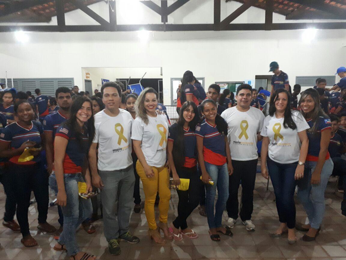 Ciretran de Açailândia faz palestra com estudantes em Bom Jesus Das Selvas