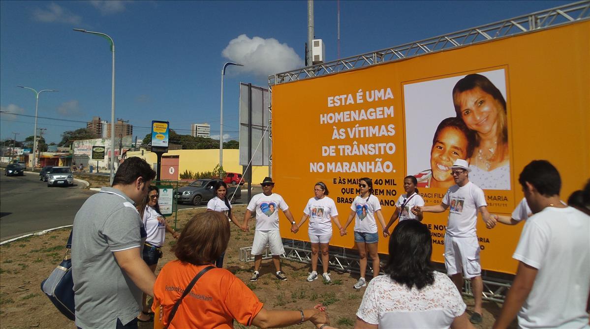 Vítimas de acidentes de trânsito no Maranhão são homenageadas em eventos coordenados pelo Detran-MA