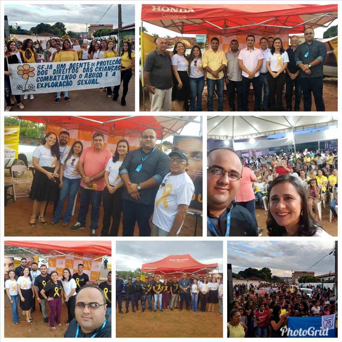 Campanha Maio Amarelo- Buriti Bravo