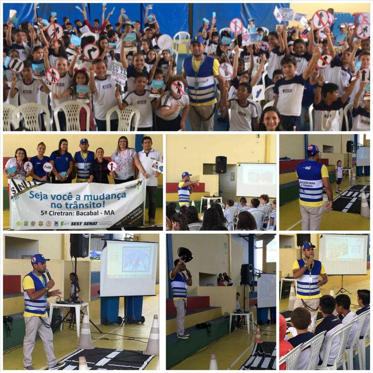 5ª Ciretran promove palestra no SESI de Bacabal