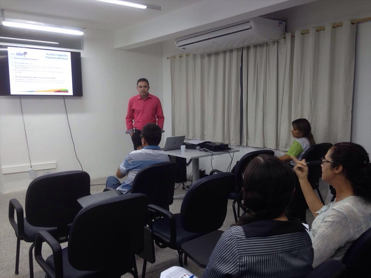 Detran-MA realiza treinamento do Programa CNH Rural