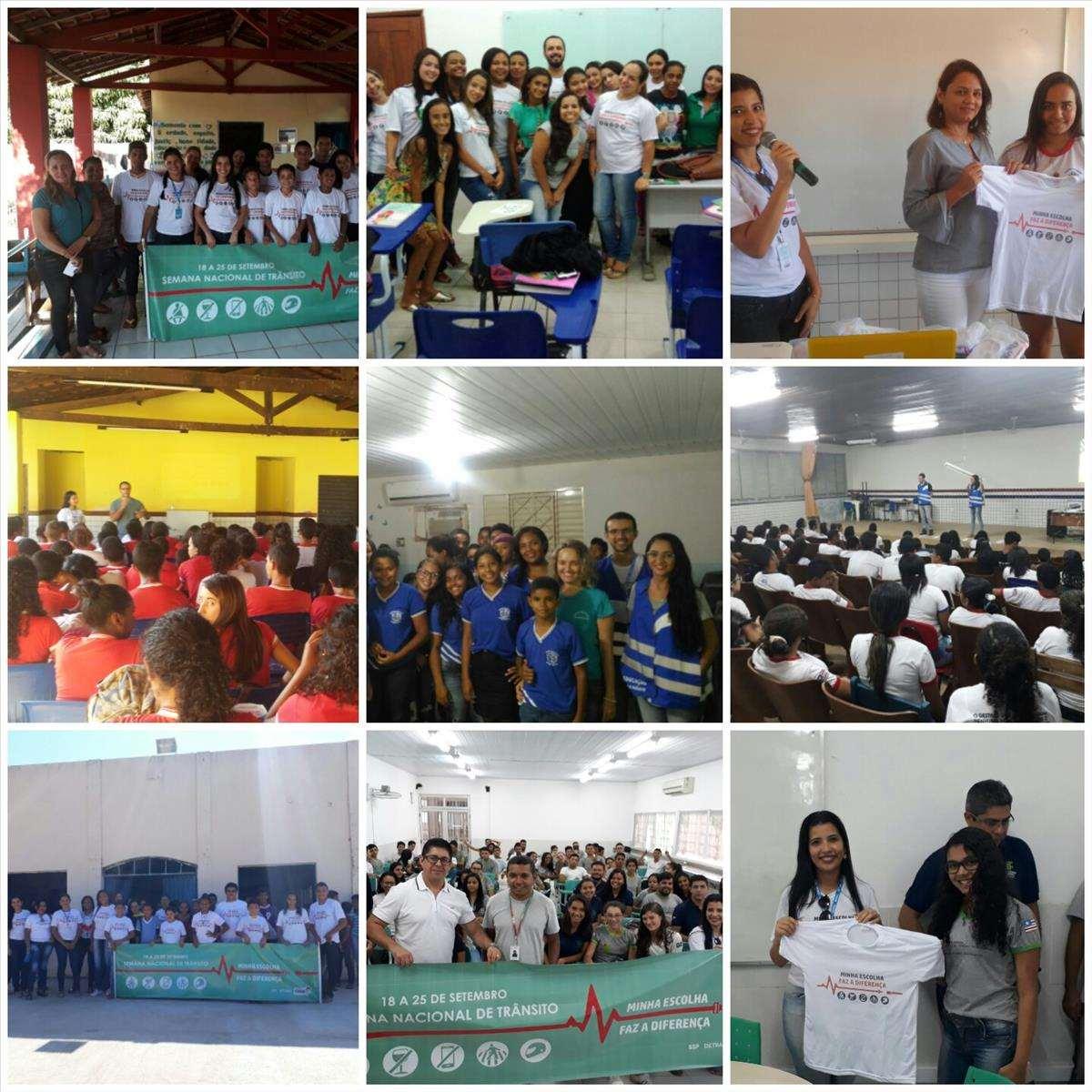 4a Ciretran de Balsas promove palestras na Semana Nacional de Trânsito