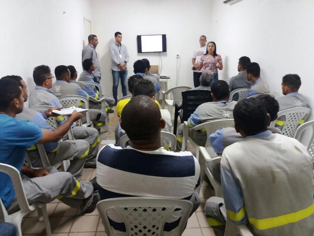 Ciretran de Caxias realiza palestra sobre prevenção de acidentes de trânsito