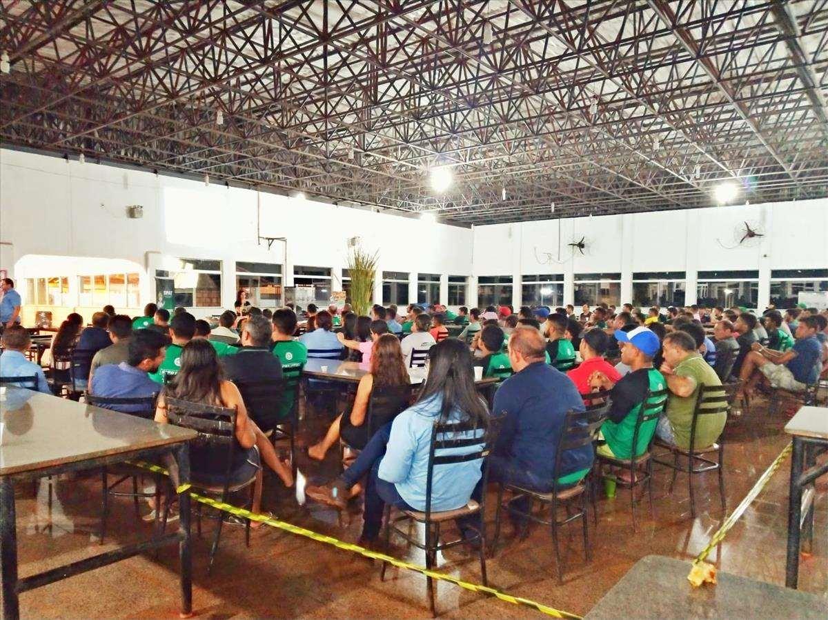 Palestra sobre Educação para o Trânsito na SIPAT  da Agro Serra