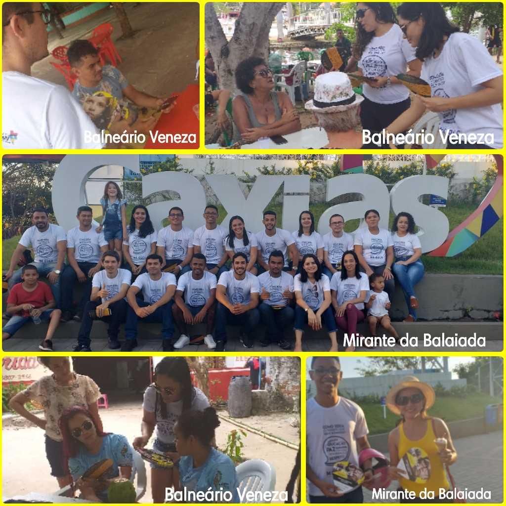 SNT 2019: 2ª CIRETRAN de Caxias realiza ações em pontos turísticos da cidade