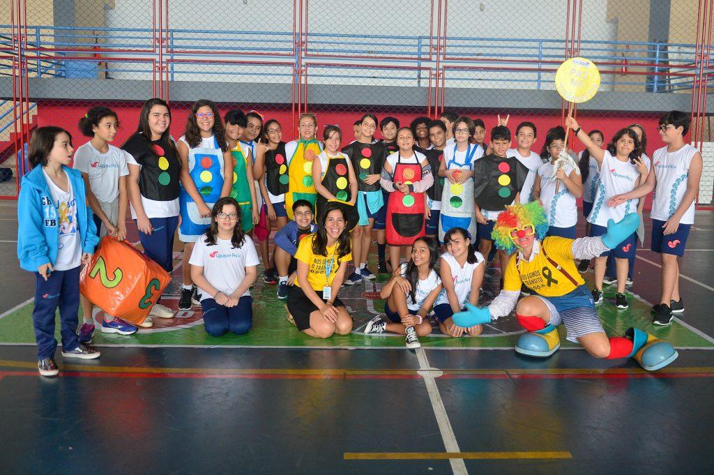 Projeto Transitarte do Detran-MA leva alegria e educação para as escolas