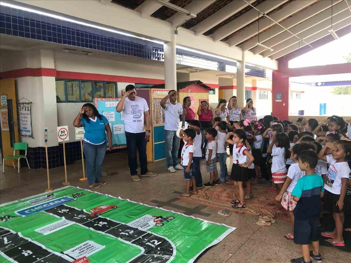 11 Ciretran realiza palestras educativa em escola na Semana Nacional de Trânsito
