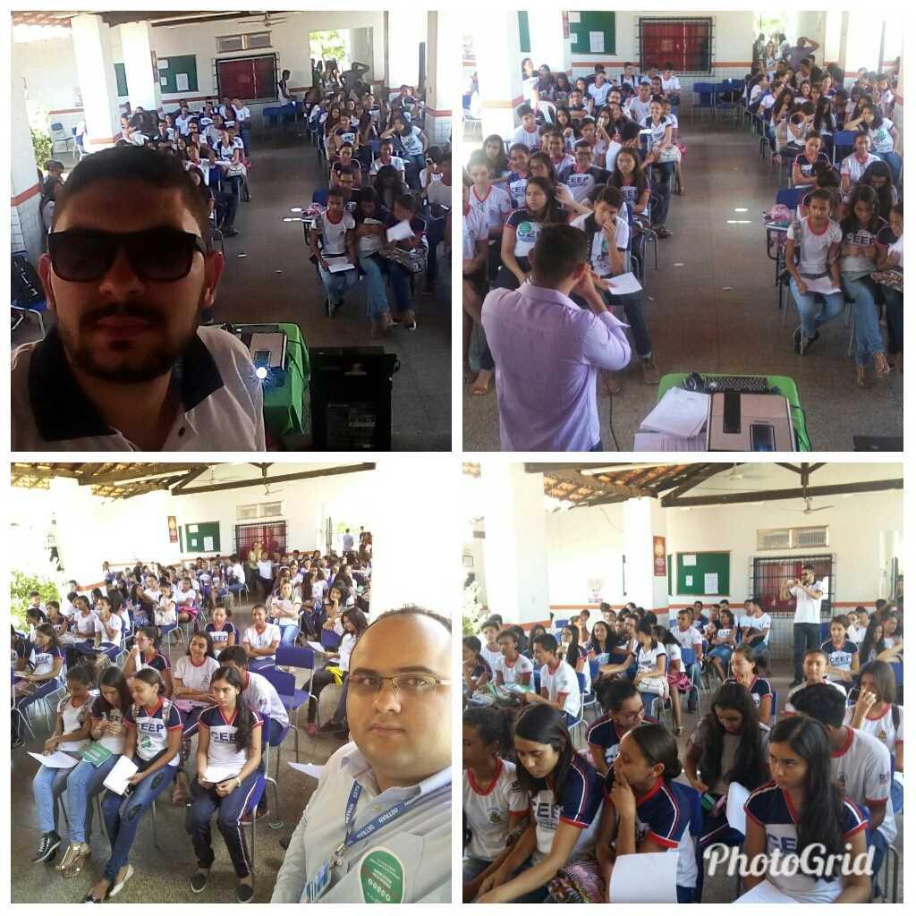 Detran-MA  promove palestra educativa em Paraibano