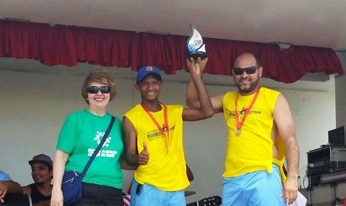 Funcionários do Detran-MA recebem troféu em torneio do SESI