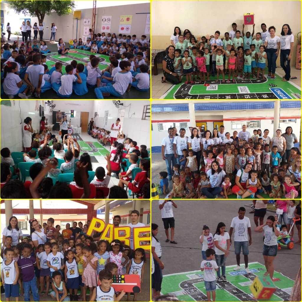 SNT 2019: 2ª CIRETRAN de Caxias realiza ações educativas em Escolas e Creches do município