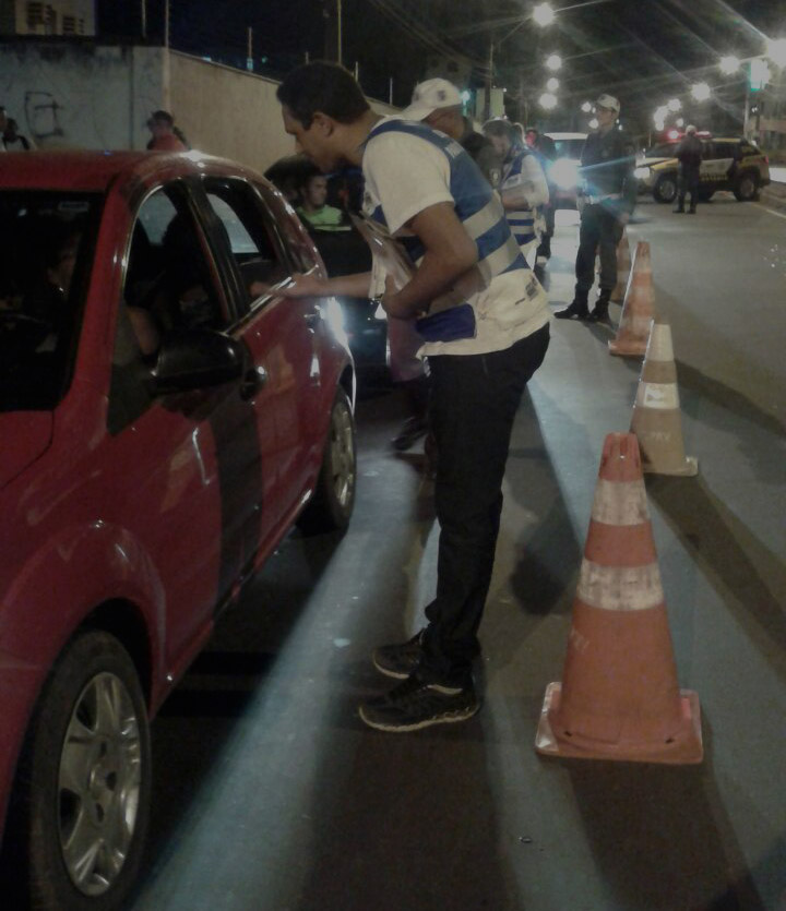 Operação Lei Seca reforça segurança no trânsito de São Luís