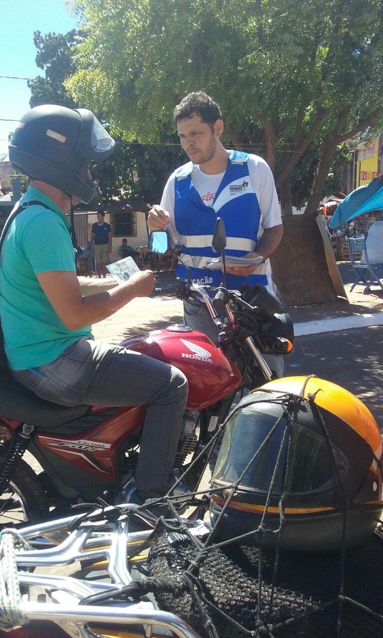 Ações da Campanha Férias em Trânsito chegam a última semana com atividades no interior
