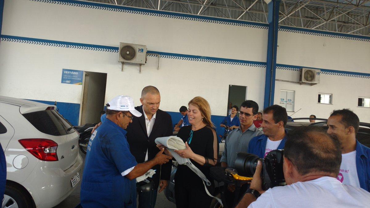 Detran-MA entrega kits de Equipamentos de Proteção Individual aos vistoriadores