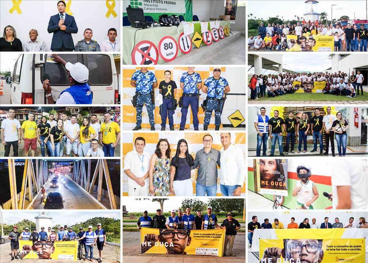 Ciretran de Pedreiras é destaque pelas ações do Maio Amarelo no ano de 2019