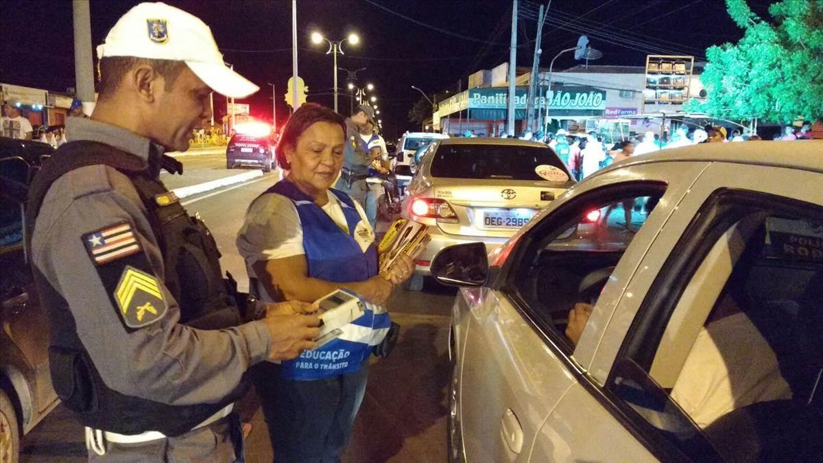 Detran reforça operações Lei Seca no Carnaval