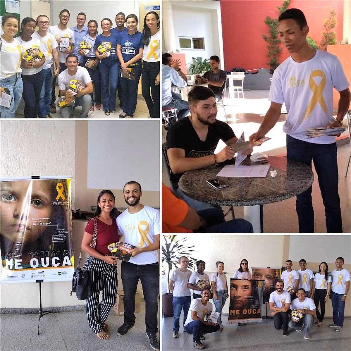 Maio Amarelo: 2º Ciretran realiza ação educativa na UNIFACEMA