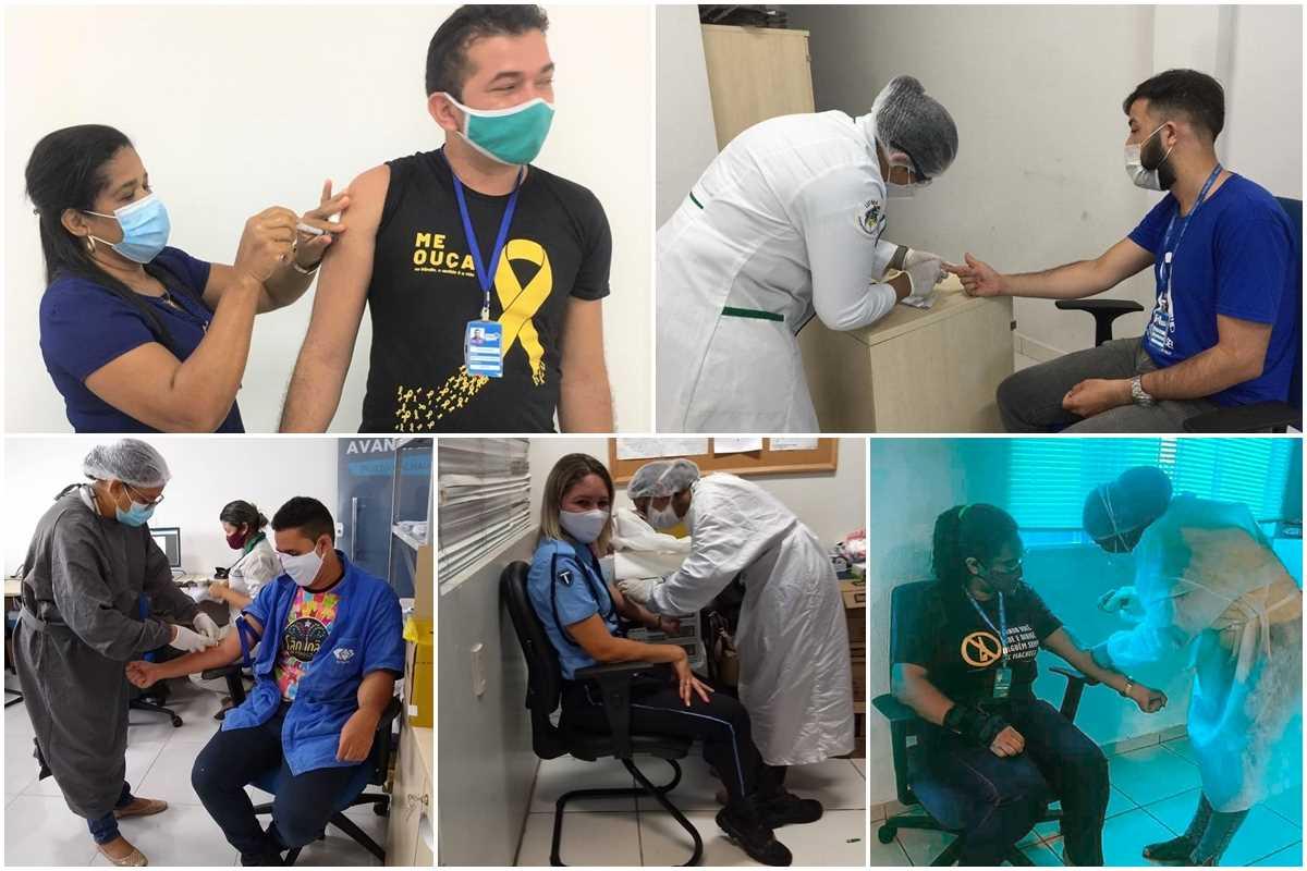 Detran-MA realiza dia de vacinação na sede e de testagem nos postos de atendimento