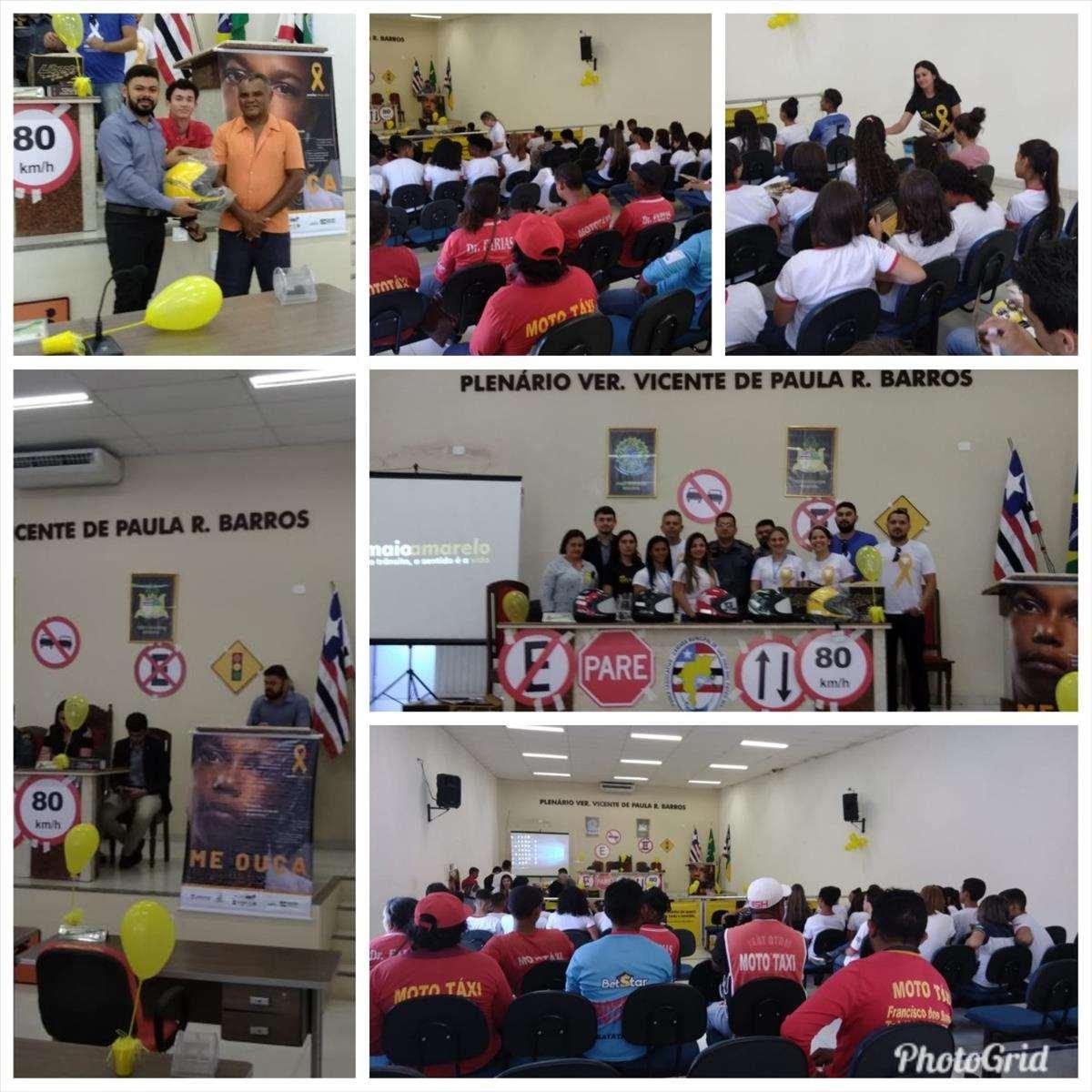 15 Ciretran realiza abertura da campanha Maio Amarelo 2019