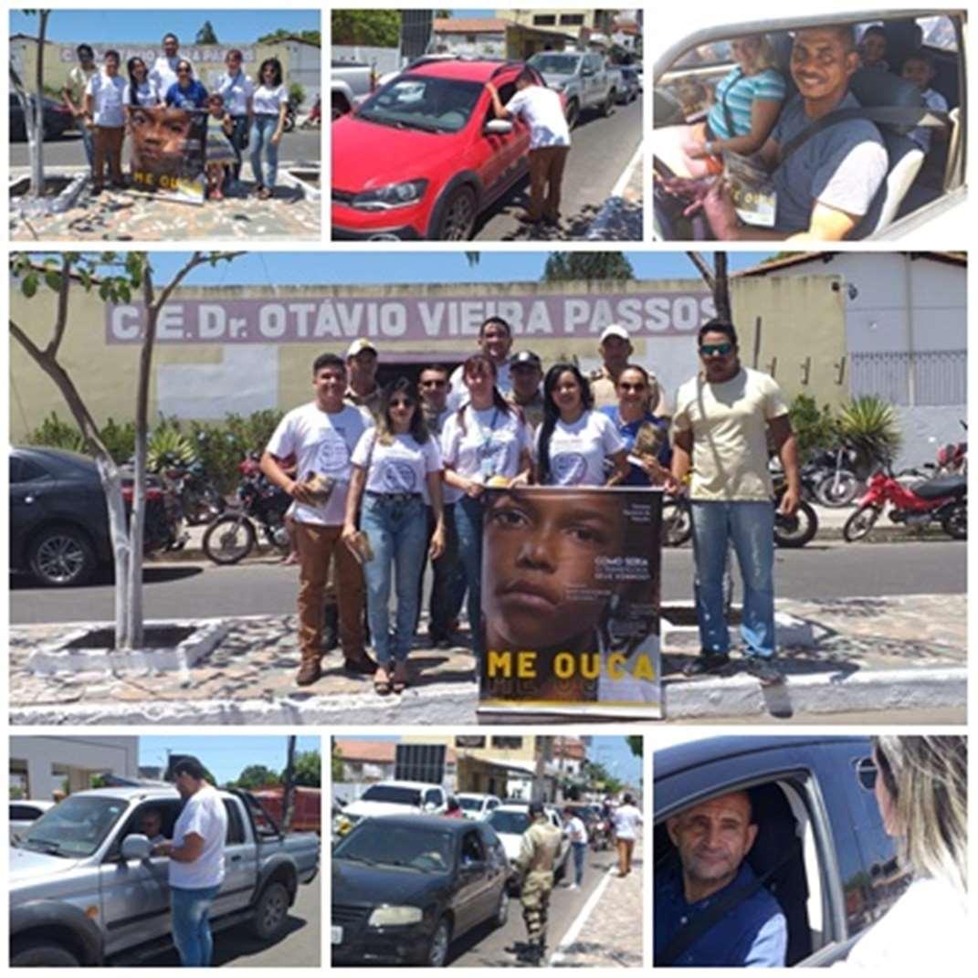6ª CIRETRAN em parceria com o DMT realizam Blitz educativa na Avenida Presidente Vargas