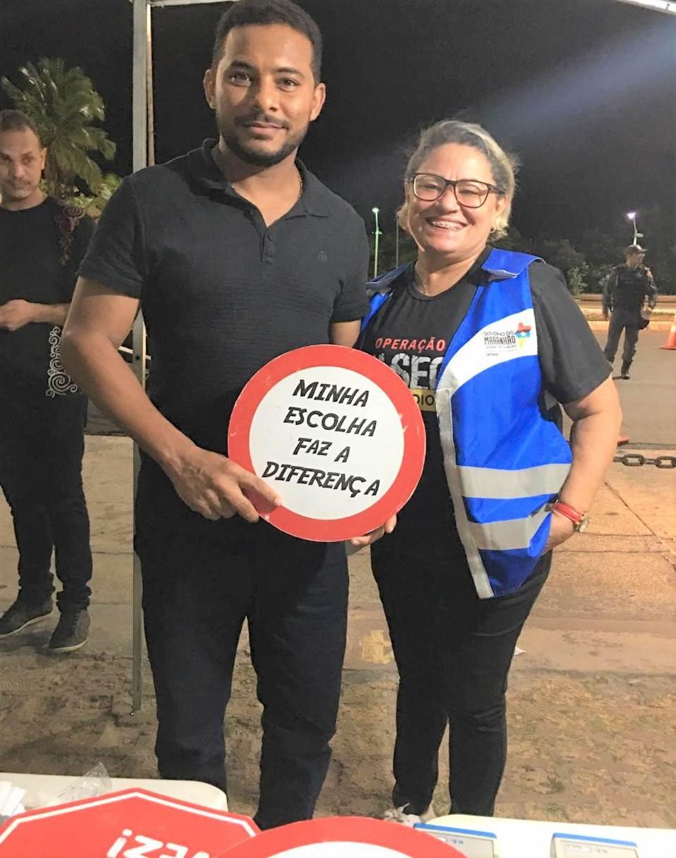 Detran-MA previne acidentes de trânsito com ações de fiscalização da Lei Seca