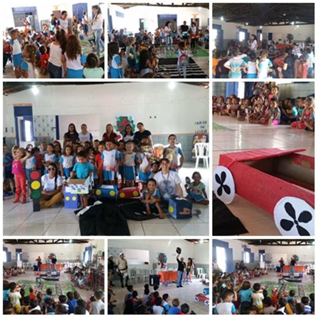 Semana Nacional do Trânsito: ação educativa chega na Creche Luiz Rocha Jr