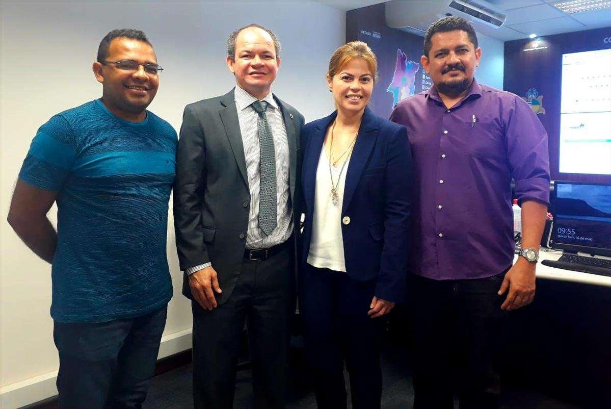 Detran-MA discute parcerias com o município de Timon