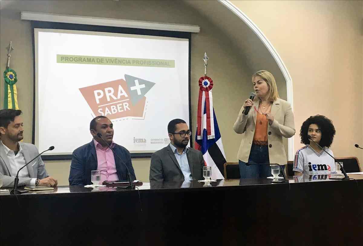 Detran-MA participa de solenidade do programa de vivência profissional de alunos do Iema